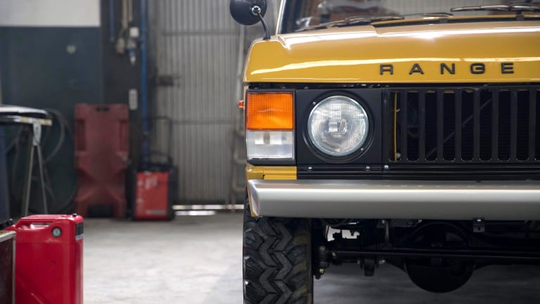 This V8-Powered 1973 Range Rover Will Make Your Heart Skip a Beat