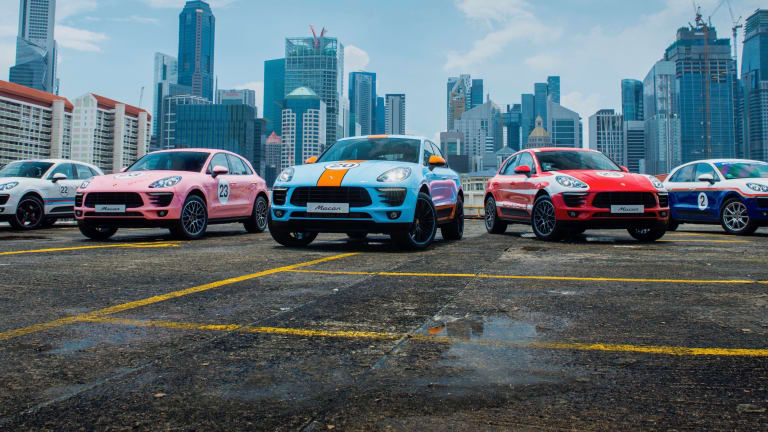 Porsche Dresses a Collection of Macans in Iconic Racing Liveries