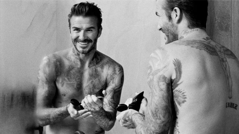 David Beckham Launches Men's Grooming Line
