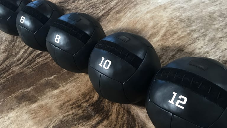 Upgrade Your Home Gym With Killspencer's Blacked-Out Medicine Balls