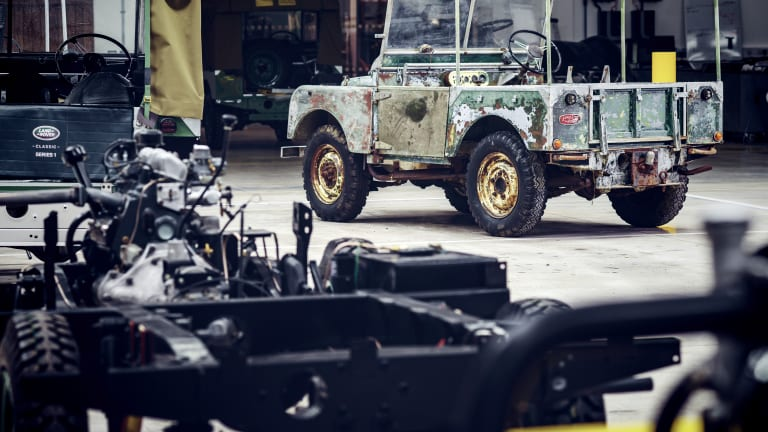 Land Rover to Restore Original Launch Vehicle That Was Missing for 63 Years