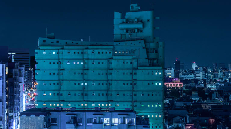 Tokyo Looks Even Better Through a Neon Noir Lens