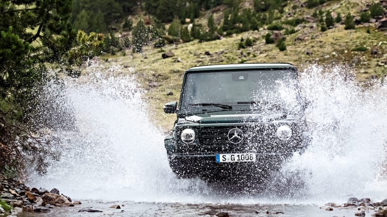 The Redesigned 2019 Mercedes G-Class Maintains Its Vintage Style