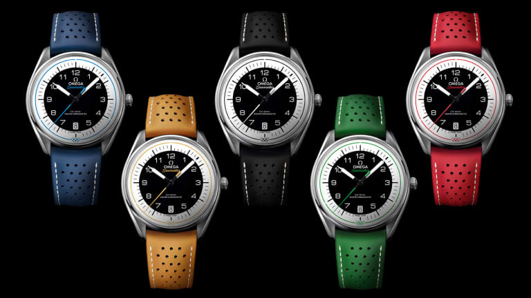 Omega Goes Retro With New Batch of Limited Edition Olympic Watches