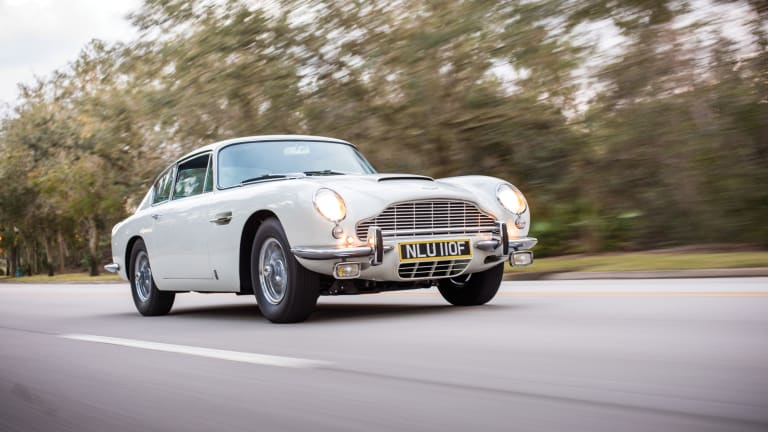 This Vintage Aston Martin Embraces Its 007 Style