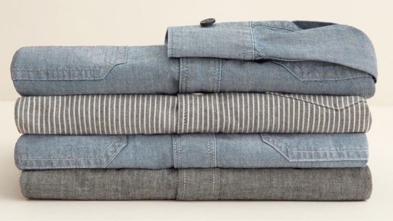 Comfy, Classic, Shockingly Affordable: These Chambray Shirts are the Real Deal