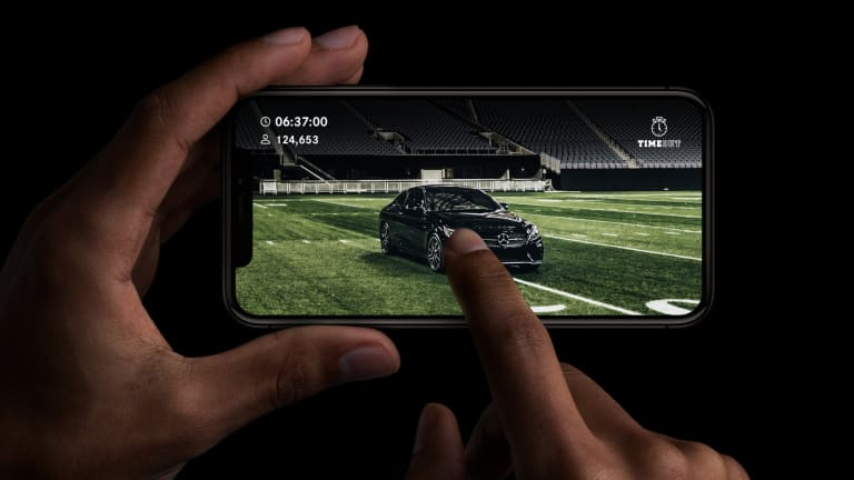 The Winner of This Super Bowl Mobile Game Gets a Mercedes-AMG C43 Coupe
