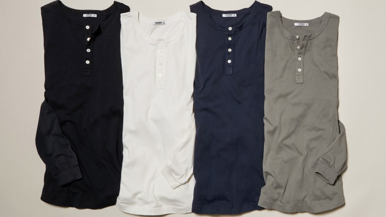 Logo-Free, Made in Los Angeles & Priced to Sell: These Henleys Have It All