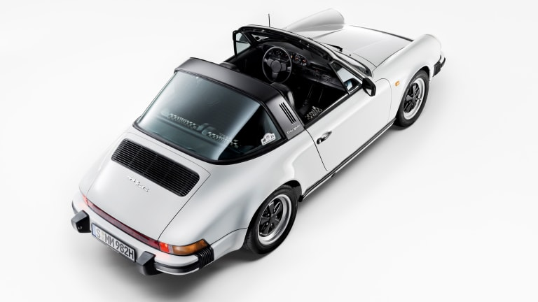 Classic Porsches Fill This Stunning Coffee Table Book