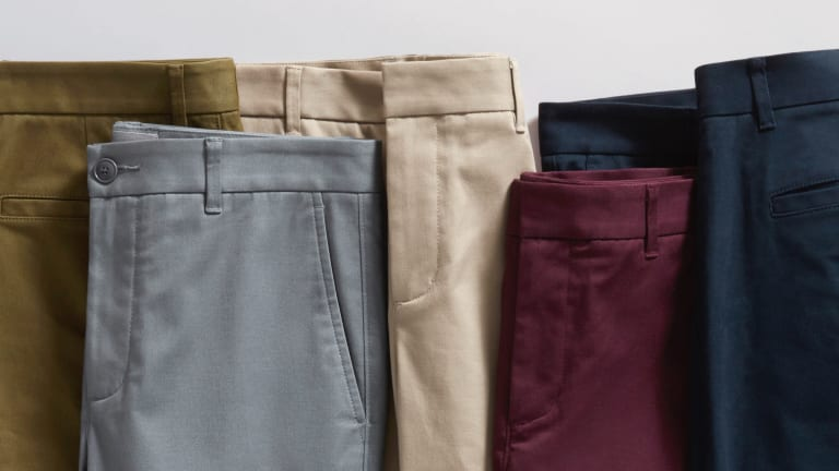 Everlane Introduces Tapered Chinos at Unbeatable Price Point