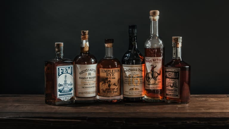6 Great Rye Whiskeys for the Home Bar