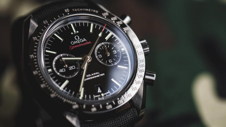 Celebrate the Winter Olympics by Picking Up a Super-Cool Omega Timepiece