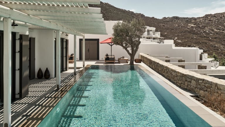 Mykonos' Newest Hotel Is a Greek Getaway Done Right