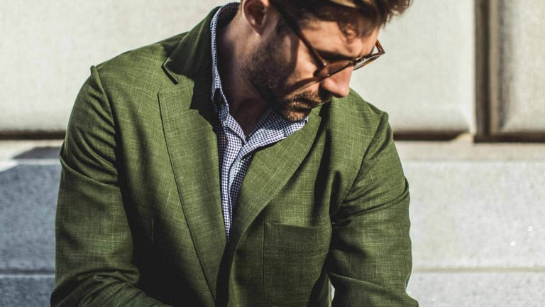 Save $100 On This Handsome Taylor Stitch Blazer