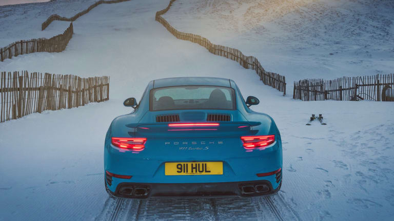 Watch a Porsche 911 Turbo S Take All-Wheel Drive to New Heights