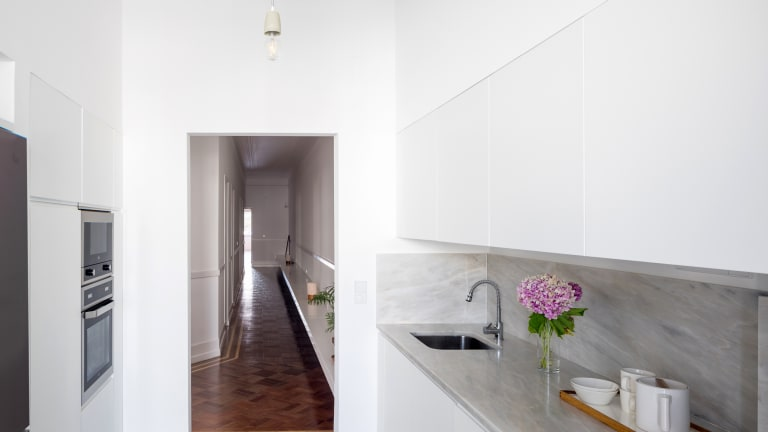 Before & After: Designers Discover Magnificent Original Flooring in Lisbon Apartment
