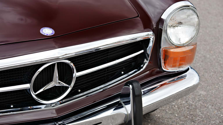 Car Porn: 1971 Mercedes-Benz 280 SL 'Pagoda'