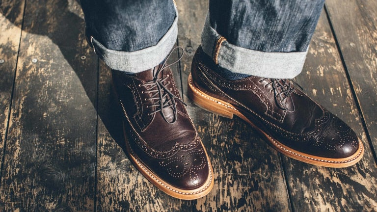 Taylor Stitch's New Leather Brogues Will Have You Well-Dressed from Head to Foot