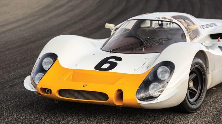Car Porn: 1968 Porsche 908 Works 'Short-Tail' Coupe