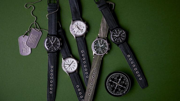 Todd Snyder x Timex Release Military-Spec Watch Collection