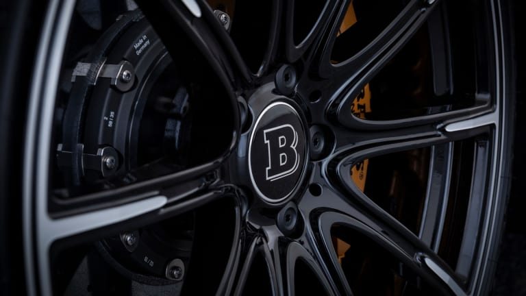The New Brabus 800 Based on the Mercedes-AMG GT 63 is a Blacked-Out Bruiser