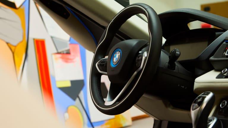 Thomas Scheibitz Turns BMW i8 Into Automotive Sculpture