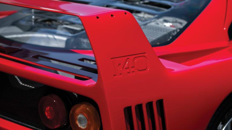 Car Porn: 1991 Ferrari F40