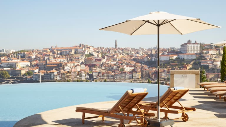 Come for the Port, Come for the View, Stay for Both at Porto's Yeatman Hotel