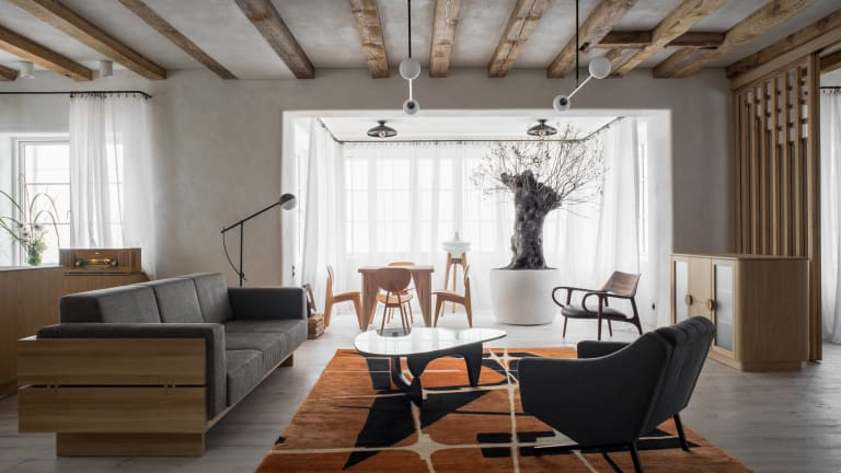Japanese and Brazilian Modernism Fill This Home Renovation
