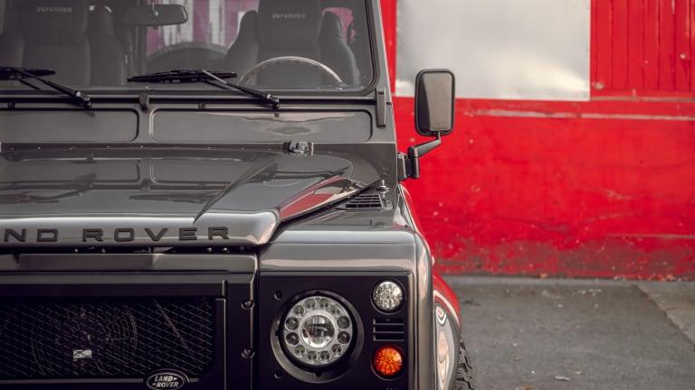 Car Porn: Custom 'GOTHAM' 1992 Land Rover Defender