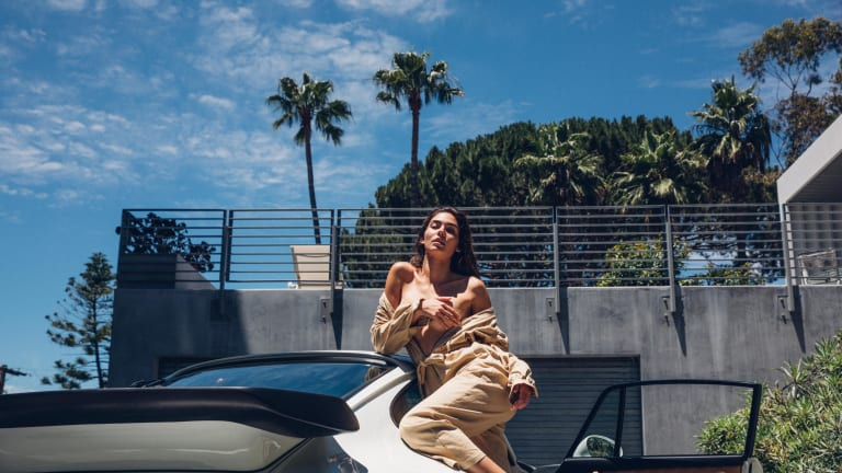 Rachel Vallori Sizzles in Porsche-Fueled Fantasy