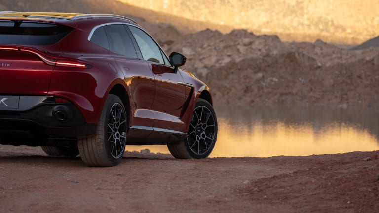 Aston Martin Launches First SUV
