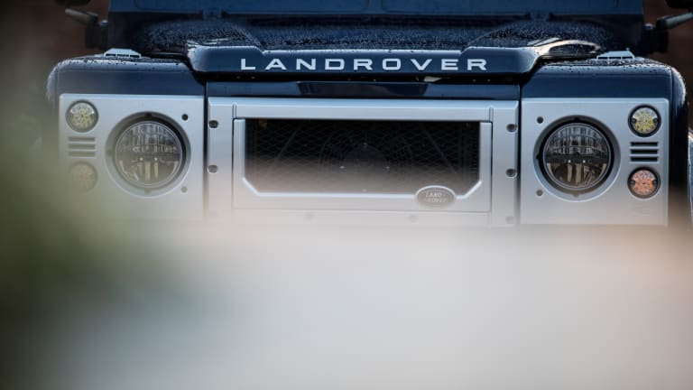 Car Porn: Custom 1990 Land Rover Defender