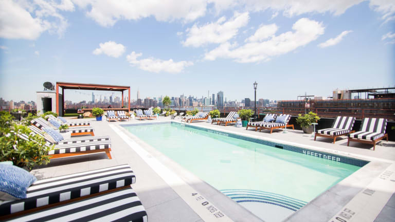 The Williamsburg Hotel's Rooftop Has Everything