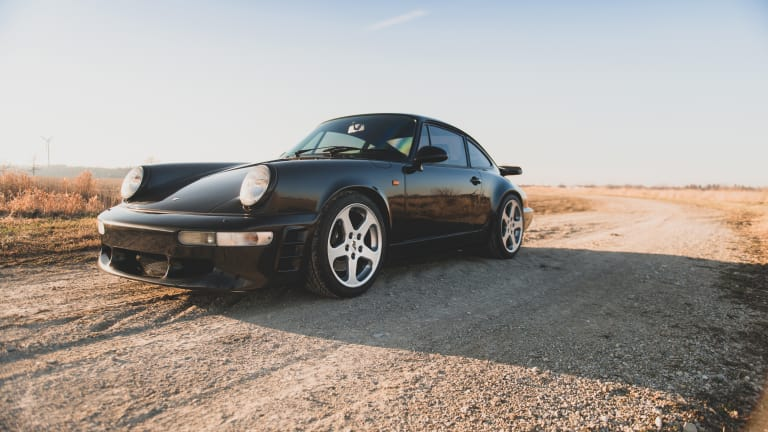 Car Porn: 1991 RUF CR4 'Black Devil'