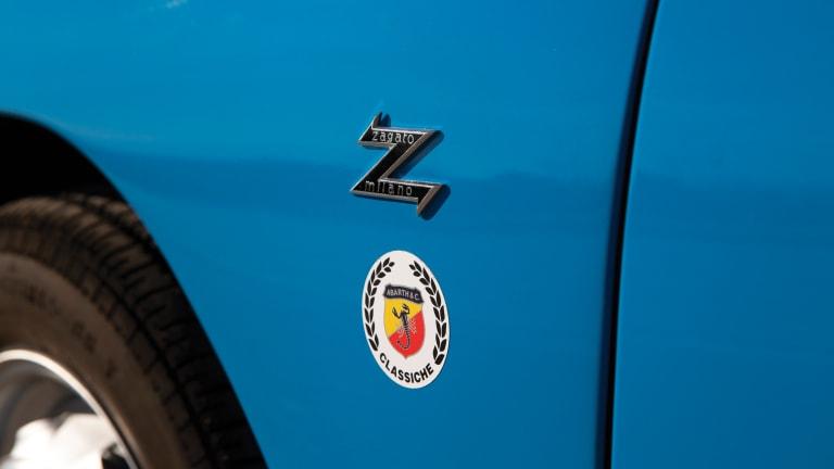 Car Porn: 1959 Fiat-Abarth 750 GT 'Double Bubble'