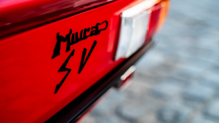 Car Porn: 1972 Lamborghini Miura S