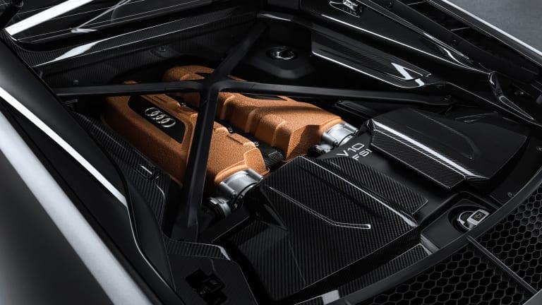 Audi Unleashes Bronze-Accented R8 V10 Decennium
