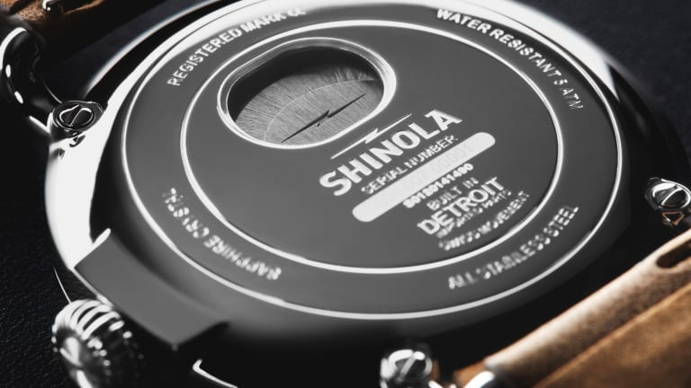 Shinola's First Watch Design Goes Automatic