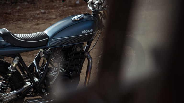 Deus' New Bespoke Bike Has Flat Track Chops and Style for Miles