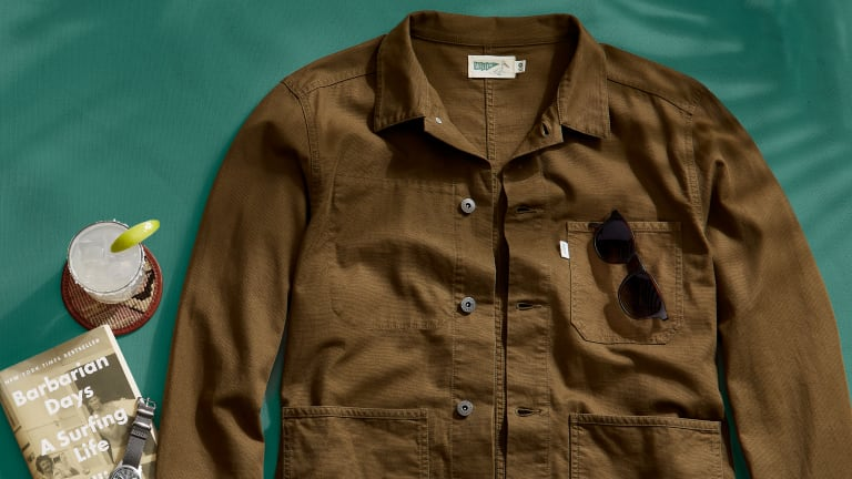 Wellen's Hemp and Organic Cotton Chore Coat Is a Menswear Workhorse