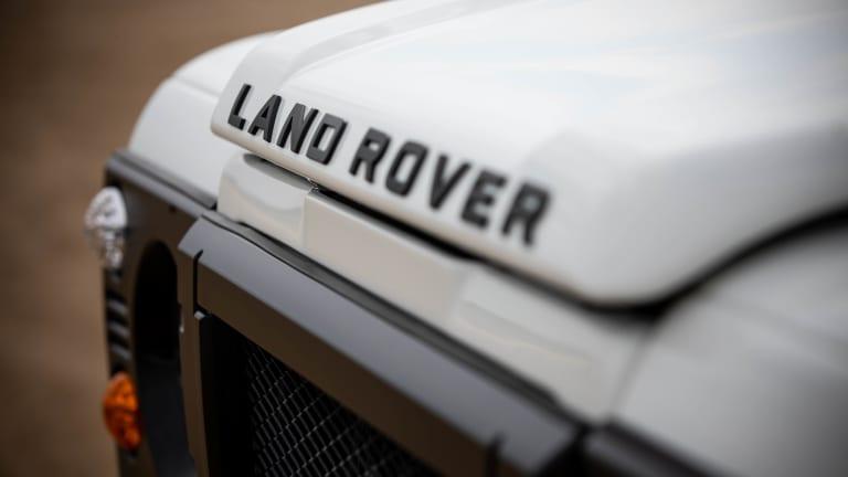 Car Porn: Custom 1991 Land Rover Defender Soft-Top
