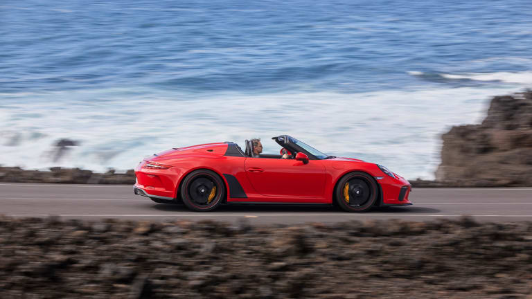 10 Stunning New Photos of the Upcoming Porsche 911 Speedster