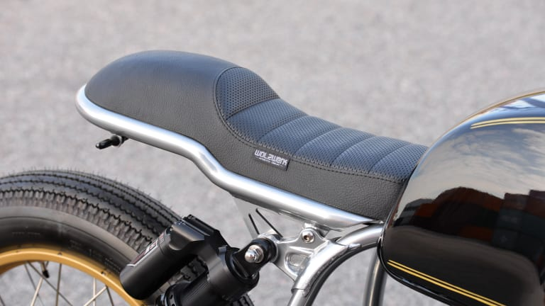 Vintage Meets Modern With This Newly Customized Café Racer