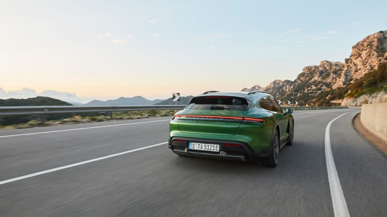 Porsche Fully Unveils Its Gorgeous New Electrticfied Sport Wagon
