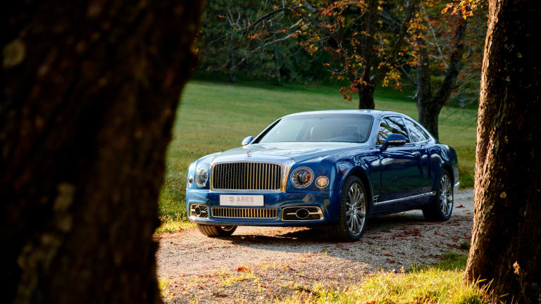 Cruising the Italian Countryside With Ares Design's Bentley Mulsanne Coupé