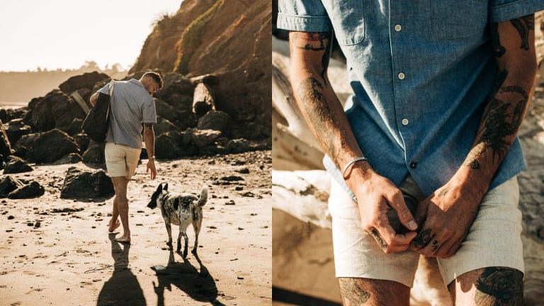 Taylor Stitch's Latest Short-Sleeve Shirts Nod to Tulum's Laidback Style