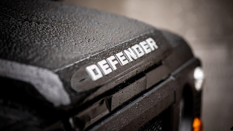 Car Porn: Custom 1992 Land Rover Defender