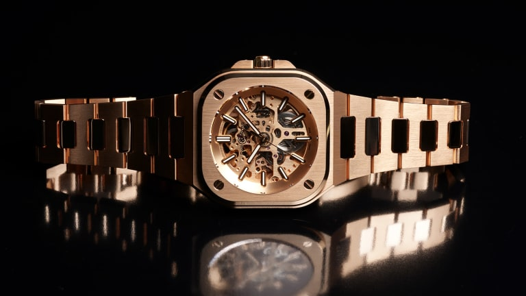 Midas Touch: Bell & Ross Unveils the BR 05 SKELETON GOLD