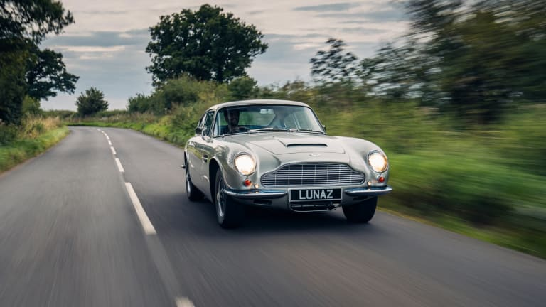 Lunaz Design Remasters and Electrifies the Aston Martin DB6